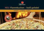 NEU: Flammkuchen – heiß geliebt! - REWE-Foodservice