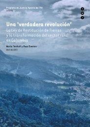 Una 'verdadera revolución' - Transnational Institute