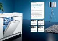 Dishwashers - Siemens Home Appliances