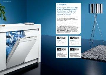 Dishwashers - Siemens Home Appliances