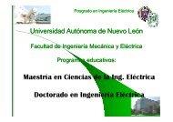 proxima convocatoria aspirantes a maestria - Facultad de Ingeniería ...