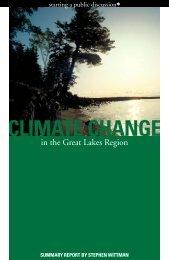 CLIMATE CHANGE - GLERL - NOAA