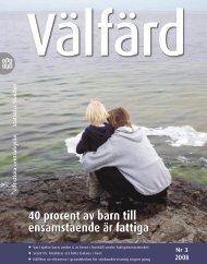 40 procent av barn till ensamstående är fattiga (pdf) - Statistiska ...