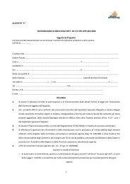 Allegato 4 Fac simile dichiarazioni ulteriori - Milano Ristorazione