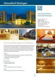 Gute Geschäfte direkt am Flughafen - Relexa Hotels