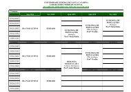 Horários LMF Maio de 2012 - Laboratório Morfofuncional