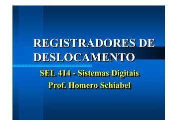 Registradores de Deslocamento - Iris.sel.eesc.sc.usp.br