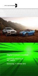 Digital Content Creation - Region Stuttgart