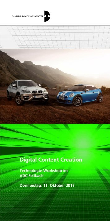 Digital Content Creation - Region Stuttgart