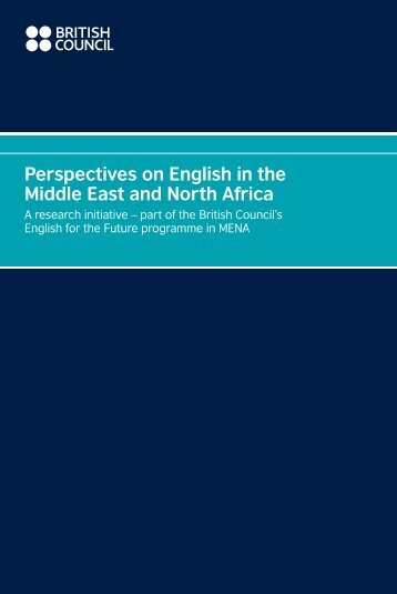 Perspectives on English in the Middle East and ... - EnglishAgenda