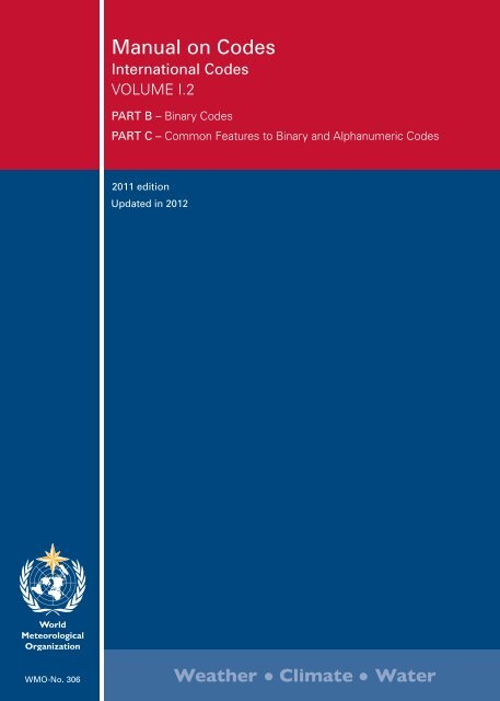 Manual on Codes - E-Library - WMO
