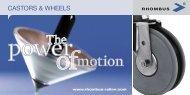 castors & wheels - Rhombus Rollen