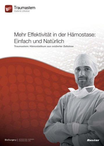 Traumastem Broschüre - BioSurgery