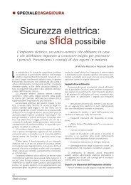 Sicurezza elettrica: una sfida possibile - Obiettivo Sicurezza