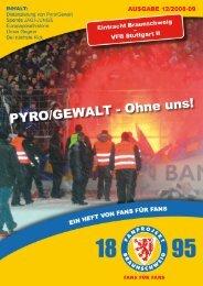 Heft 12: VfB Stuttgart II - FanPresse Braunschweig