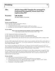 Mission Impossible? Engaging the unengaged in ... - Seda