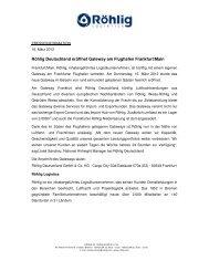 Download Pressemitteilung - Röhlig