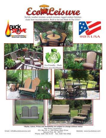 Furniture Brochure - Buck Stove