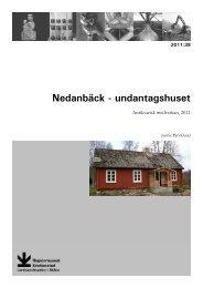 diverse arbeten, Glimåkra sn, AM, Jennie Björklund, 2011