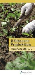 VERANSTALTUNGEN 2010 - Landratsamt Rems-Murr-Kreis