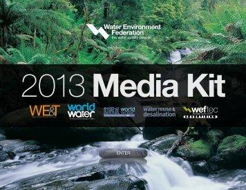 Water Environment Federation 2013 Media Kit