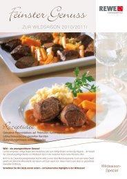 ...ZUR WILDSAISON 2010/2011! - REWE-Foodservice