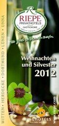 Unser Silvester-Progamm (PDF) - Riepe Privat Hotels