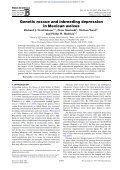 Genetic rescue and inbreeding depression in Mexican wolves - Page 2