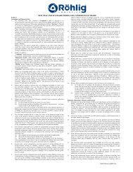 new zealand standard terms and conditions of trade - Röhlig