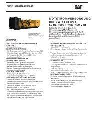 NOTSTROMVERSORGUNG 880 kW 1100 kVA - Zeppelin ...