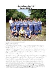 Junioren Ca ÄmmeTeam a (CCJL) - FC Hasle-Rüegsau