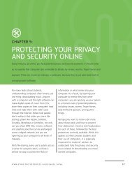 Chapter 5: Protecting Your Privacy and Security Online