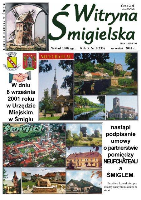 Witryna - wrzesień.p65 - Centrum Kultury w Śmiglu