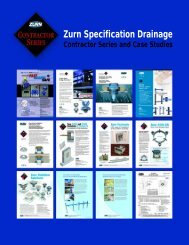 Zurn Specification Drainage Contractor Series And Case Studies