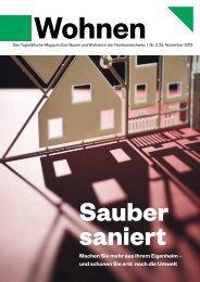 Ausgabe vom 22. November 2013 - Neue Medien Basel AG