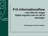 Frit informationsflow - men ikke for meget Digital ... - EPJ-Observatoriet