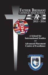 Student Handbook - Father Bressani Catholic High School - the York ...