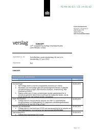 FS 44-06-03 / CS 14-05-02 - Forum Standaardisatie