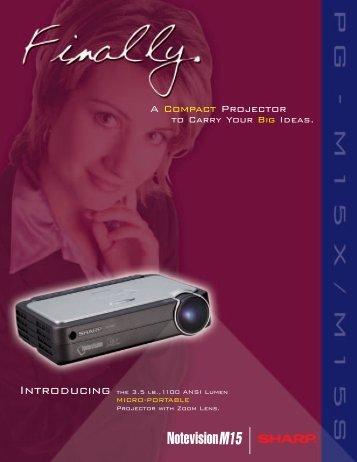 A Compact Projector - AVI-SPL
