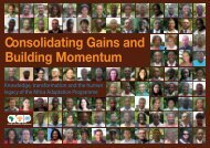 Consolidating Gains and Building Momentum.pdf - Africa Adaptation ...