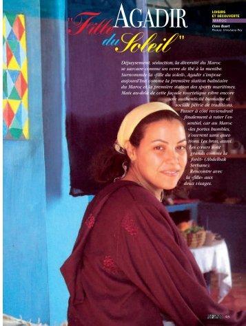 """Agadir """"Fille du soleil"""" - Magazine Sports et Loisirs"""