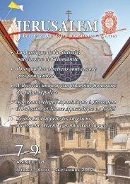 Juillet-Septembre 2012.indd - Patriarcat latin de Jérusalem