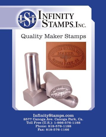 PDF of Maker Stamp Packet - Infinity Stamps