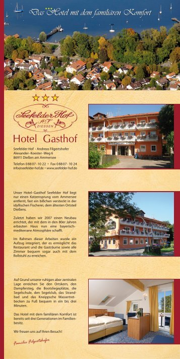 Hotel - Gasthof - Seefelder Hof