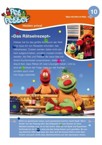 Das Rätselrezept« - Kinderwelt-Bewegungswelt.de