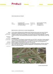 Lees de bewonersbrief van 5 augustus 2013 - ProRail