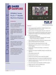 PDF 1 MB - Sauer-Danfoss