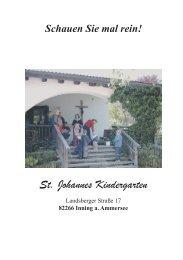 Schauen Sie mal rein! - St. Johannes-Kindergarten Inning am ...