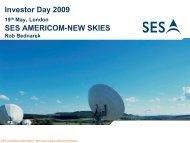 Investor Day 2009 London - SES.com
