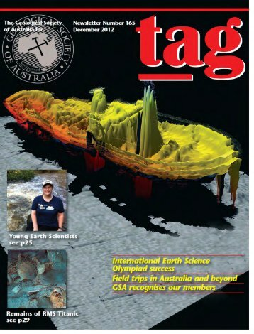 TAG - Geological Society of Australia